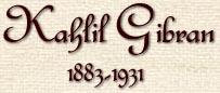 Kahlil Gibran, 1883-1930